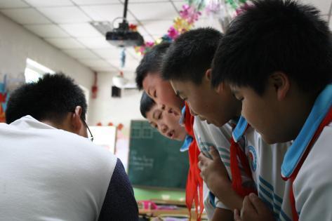 Se læreren over skulderen