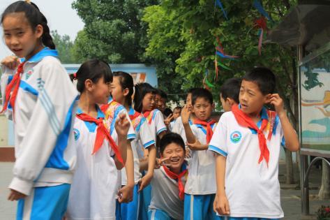 Fri fra skole en eftermiddag i maj 2015